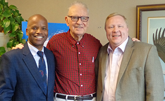 Professor Edwards, Lee Hamilton, Chuch Dunlap