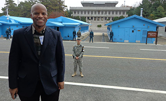 Professor Edwards Visits Republic of Korea for Forum on National Security
