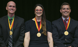 Four IU McKinney Students Honored with Plater Medallion for Civic ...