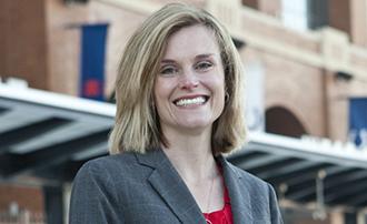 Julie Roe Lach, '04, Is Deputy Commissioner of Horizon League