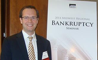 IU McKinney Alumnus Attends Bankruptcy Seminar