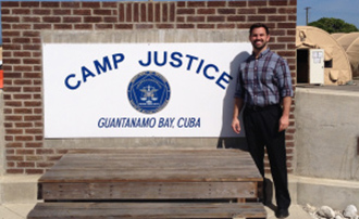Jeff Meding at Camp Justice