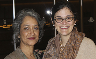 Farida Shaheed and Lea Shaver