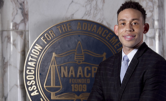 IU McKinney Student Christopher Smith Spending Summer as NAACP/Kellogg's Law Fellow