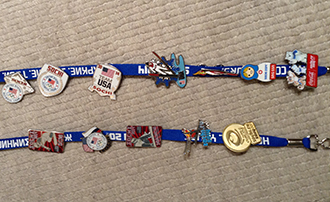 Olympics pins from Sochi
