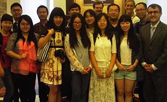Sun Yat-sen Visit to Faegre Baker Daniels 2014