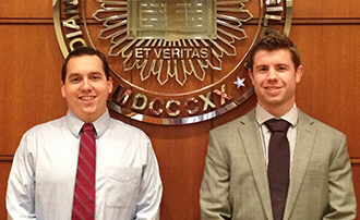 IU McKinney Evans Moot Court Students