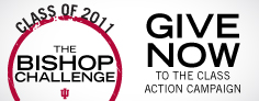 Give Now Button for the Bishop Challenge Class Action Button
