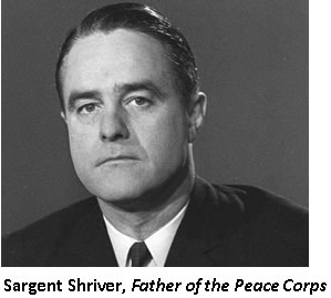 Sargent Shriver, Father of the Peace Corps